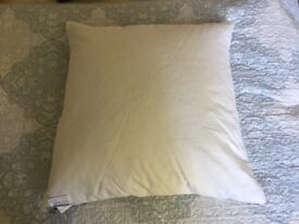 2 Duck Feathered John Lewis Cushions £5 each