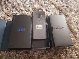 Samsung s9+ 128 gb unlocked to all networks