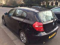 2010 BMW 118D ES BLACK DIESEL MANUAL