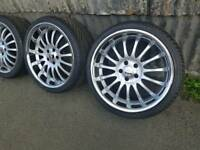 "5x112 18""19"" Genuine Team Dynamic alloys audi,Vw,Mercedes,"