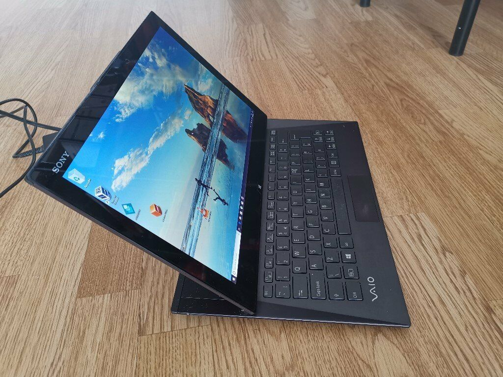 Sony Vaio Duo 13 Laptop/Tablet hybrid, i5, 4gb ram, 128gb SSD Hard, good  battery  | in Bradford, West Yorkshire | Gumtree