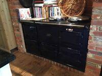 Navy 4 oven aga range cooker