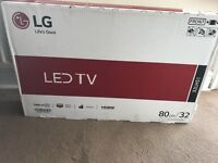 **32 inch led LG tv brand new in the box**