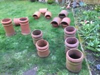 Terracotta Chimney pots and Hoods