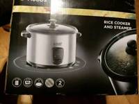 New russel hobbs rice cooker and steamer