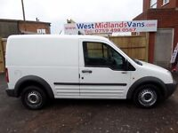 04 PLATE FORD TRANSIT CONNECT L200 SWB 1.8 DIESEL