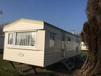 2 bed 6 berth caravan for holiday rental on the popular Bunn Leisure Holiday Park, White Horse.