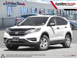 2015 Honda CR-V LX *NEW ARRIVAL* Purchased New at London Hond...