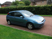 ford focus lx 53 reg mot 1 year