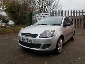 2007 57 Ford Fiesta Style 1.2 Climate Silver