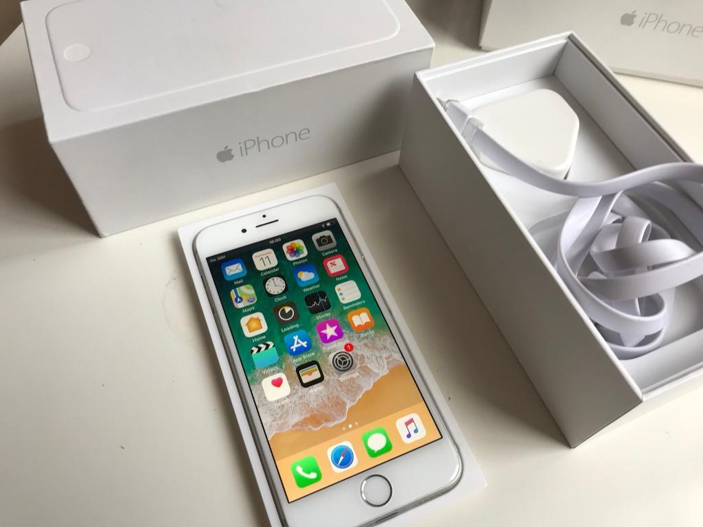 IPhone 6 - 16gb - Unlocked - boxed - white / silver