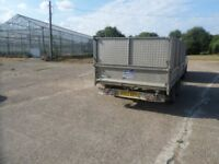 Ifor Williams 12foot tandem axle electric tipping trailer