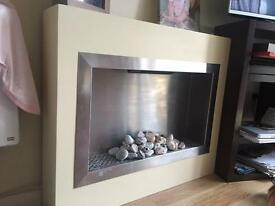 Electric fireplace- barely used