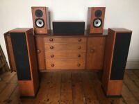 Acoustic Energy AE Aegis Evo Speakers Tower Bookshelf and Centre