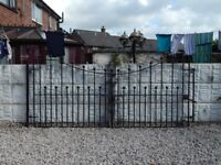 Wrought iron gates / Driveway gates / Garden gates / Metal gates / Steel gates / Double house gate
