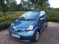 Toyota Aygo 1.0 29000 fsh £20 per year tax
