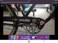 Ladies Sugar Skull bike by Electra brand new never been used