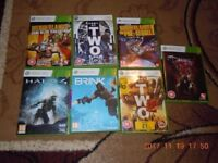 Xbox 360 Games x7 - £7 - All Used In Very Good Condition - All Working - Cash on Collection Only