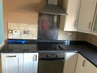 Induction hob and electric oven