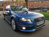 AUDI A4 TDI S LINE FULL AUDI SERVICE HISTORY CAMBELT KIT DONE PERFECT CONDITION DRIVE LIKE NEW