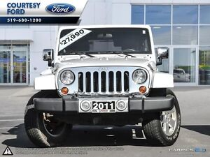2011 Jeep WRANGLER UNLIMITED Sahara London Ontario image 2