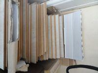 boxed light ash laminate flooring 3.5meters squared £20.00