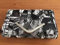 Photo clutch bag and purse