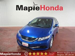 2013 Honda Civic LX| Power Group, Bluetooth, Alloy Wheels!