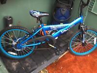 BMX style bikes