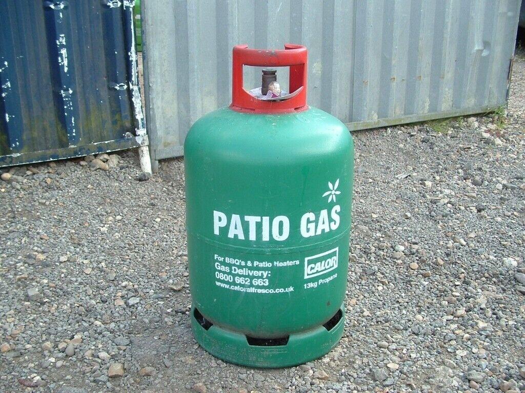 Calor Patio Gas 'Empty' 13kg Propane BBQ gas bottle. | in ...
