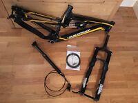 Nukeproof Mega AM275 Frame and Fork Set (small)