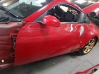 NISSAN 350Z COUPE PASSENGER DOOR RED 2006 *BREAKING*