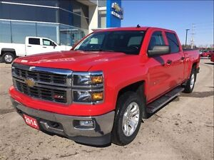 2014 Chevrolet Silverado 1500 2LT - 6.5 ft box - 74, 000 km's