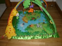 fisher price musical play gym mat