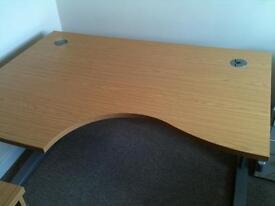 Office desk - wave design
