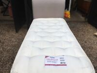 """3"""" Foot Top Quality Divan Bed with 3000 Spring Mattress and Matching Headboard"""