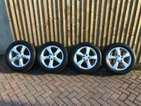 """2017 Mercedes Vito Sport 17"""" Alloy Wheels Tyres fit W639 Mint Condition"""
