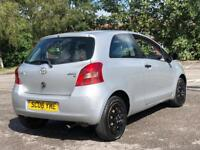 2006 Toyota Yaris 1.0 VVT-i Silver. IDEAL FIRST CAR