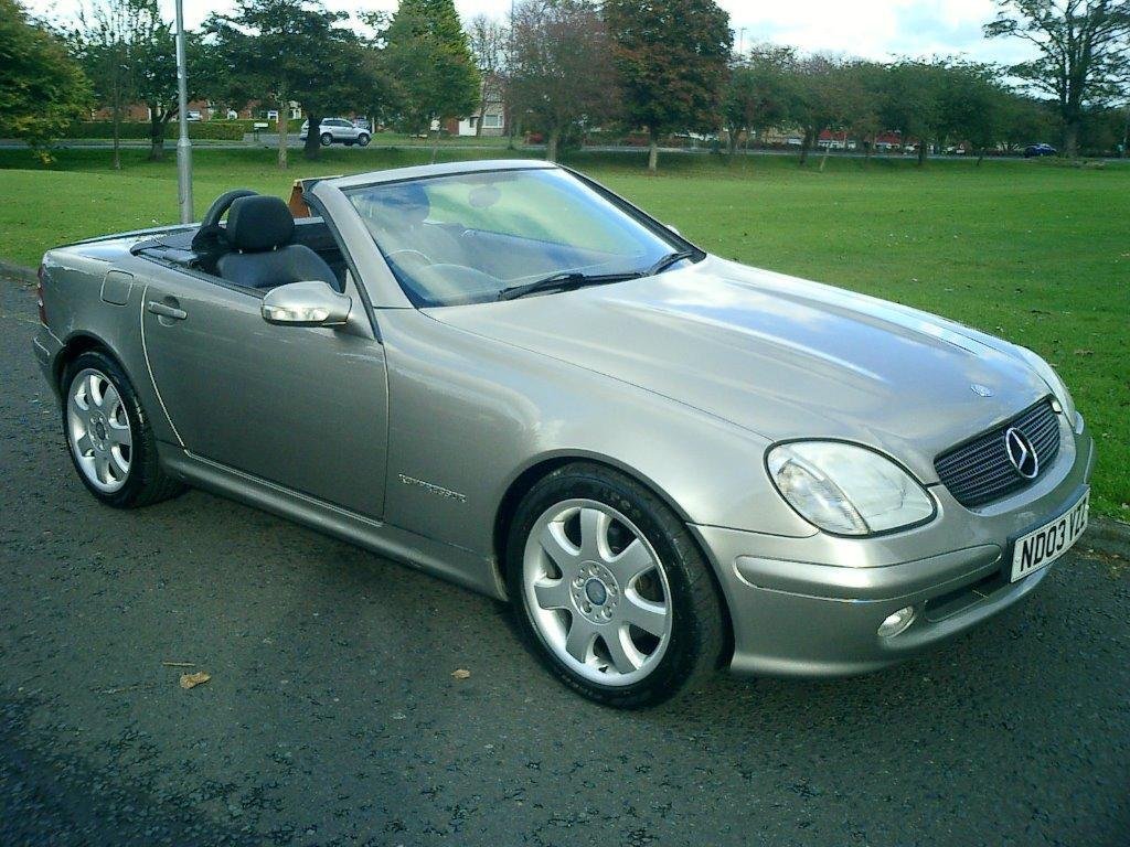 mercedes slk 200 kompressor in buckie moray gumtree. Black Bedroom Furniture Sets. Home Design Ideas