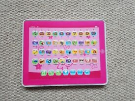 Chad Valley kids toy ipad tablet