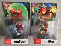 Nintendo Switch Amiibo's Zelda Metroid Link Samus Returns Rare Brand New Breath of the Wild 3DS