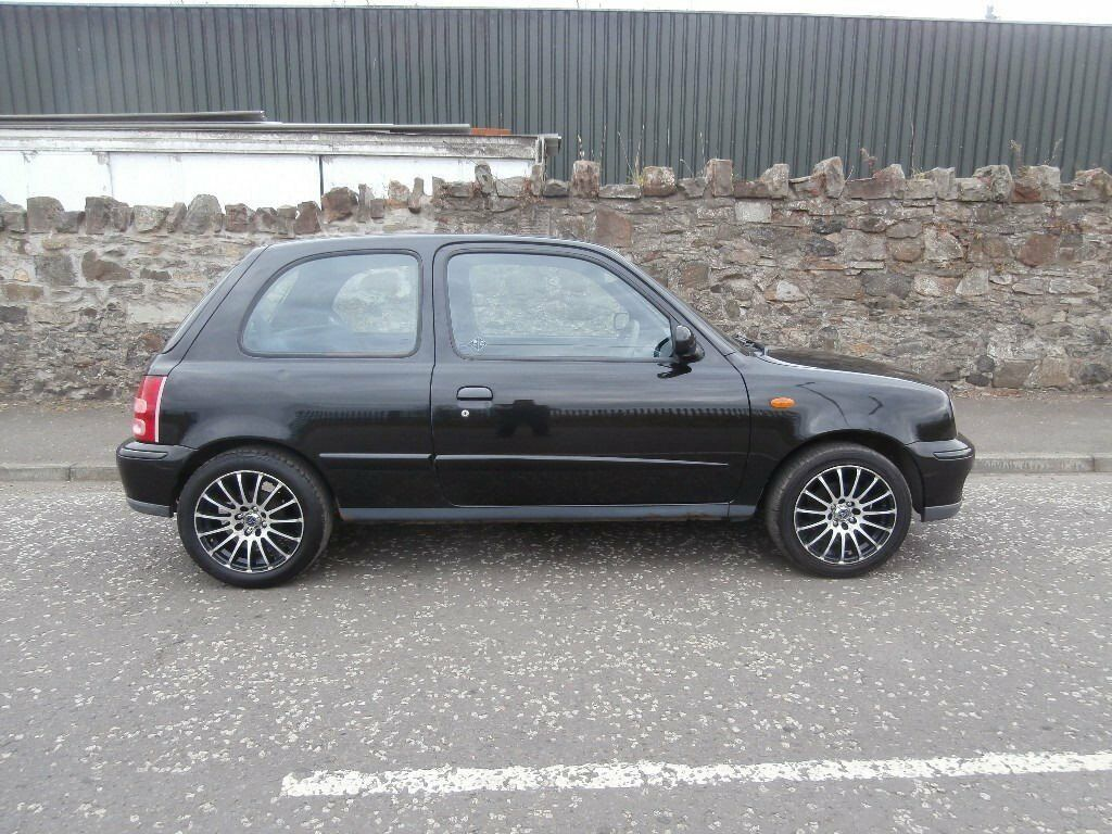 2002 nissan micra 1 0 tempest 3 door black mot 1. Black Bedroom Furniture Sets. Home Design Ideas
