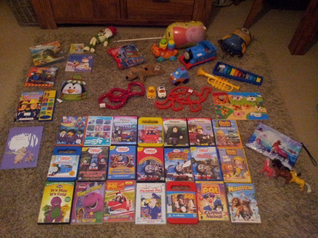 All toys u00a31 peppa thomas tank fireman Sam elc disney ...