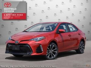 2019 Toyota Corolla SE Upgrade Package