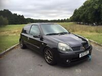 2002/51 RENAULT CLIO 1.4 PETROL, 3 DOOR HATCHBACK, GENUINE PARTX TO CLEAR, LONG MOT, HIGHLY MODIFIED