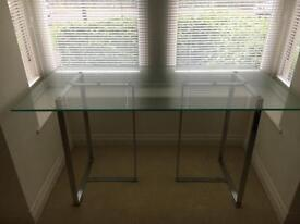 John Lewis Glass Table