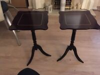 2 X Side tables. Free local delivery.