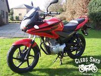 Honda CBF - 125, 12 months Mot, Free warranty, Free delivery, Low miles