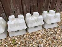 42 concrete decking deckin blocks standard size