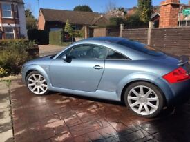 Audi TT 1.8 Quattro for sale - Blue